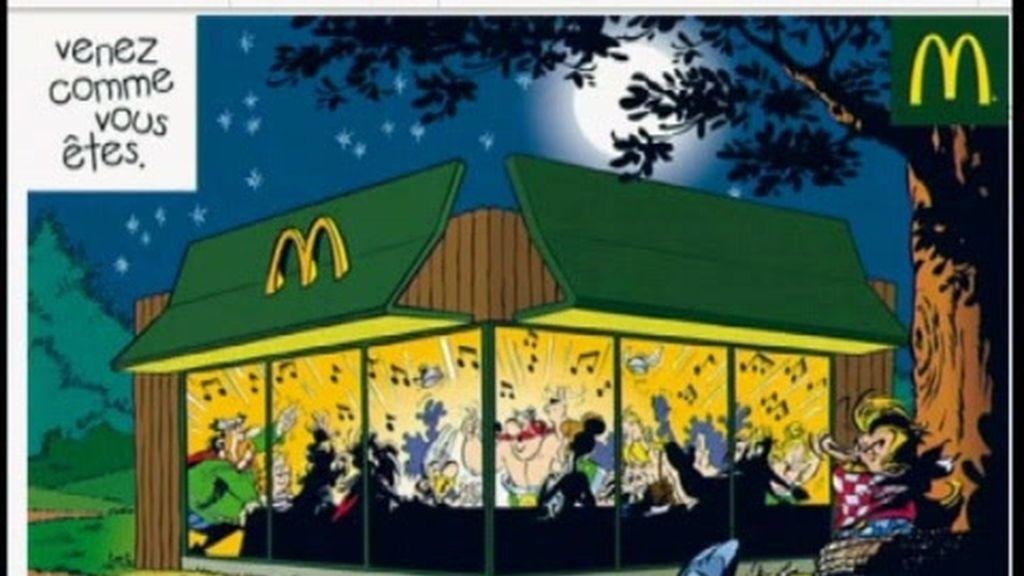 Axtérix y Obélix cambian el jabalí por un 'Big Mac'