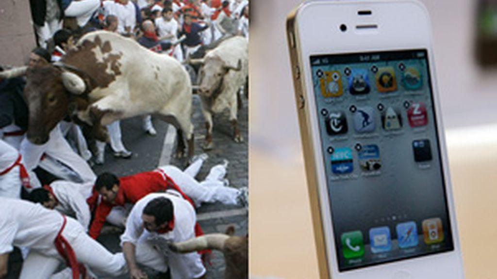 No olvides tu iPhone en San Fermín