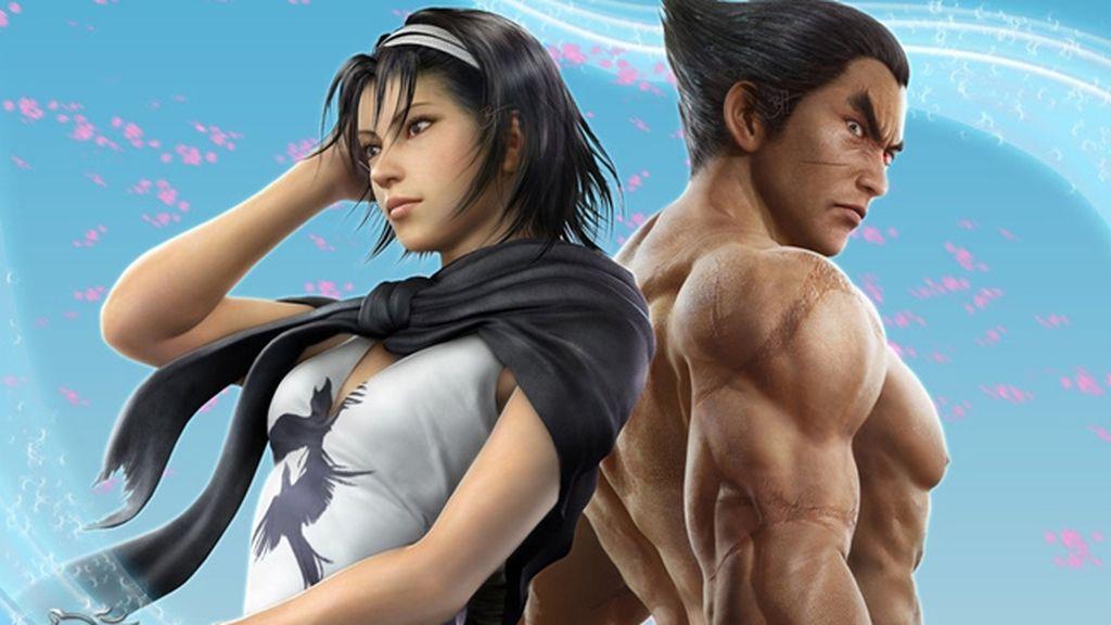 Kazuya Mishima y Jun Kazama (Tekken)