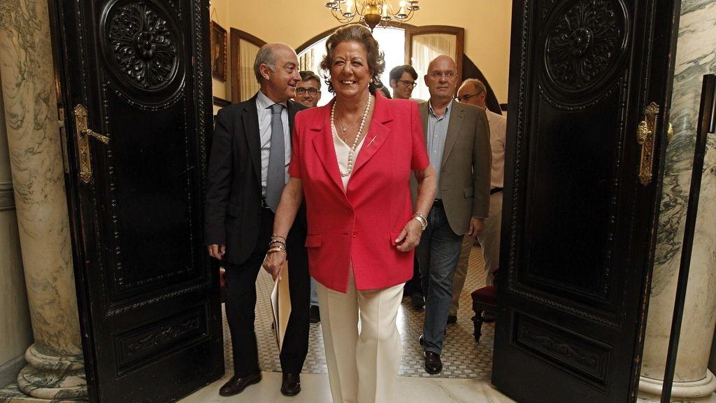 Rita Barberá se despide tras un cuarto de siglo en la Alcaldía de Valencia