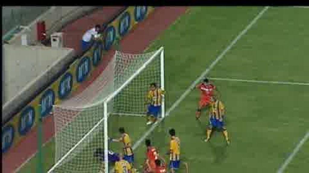 Getafe y Villarreal, adelante en la Liga Europa
