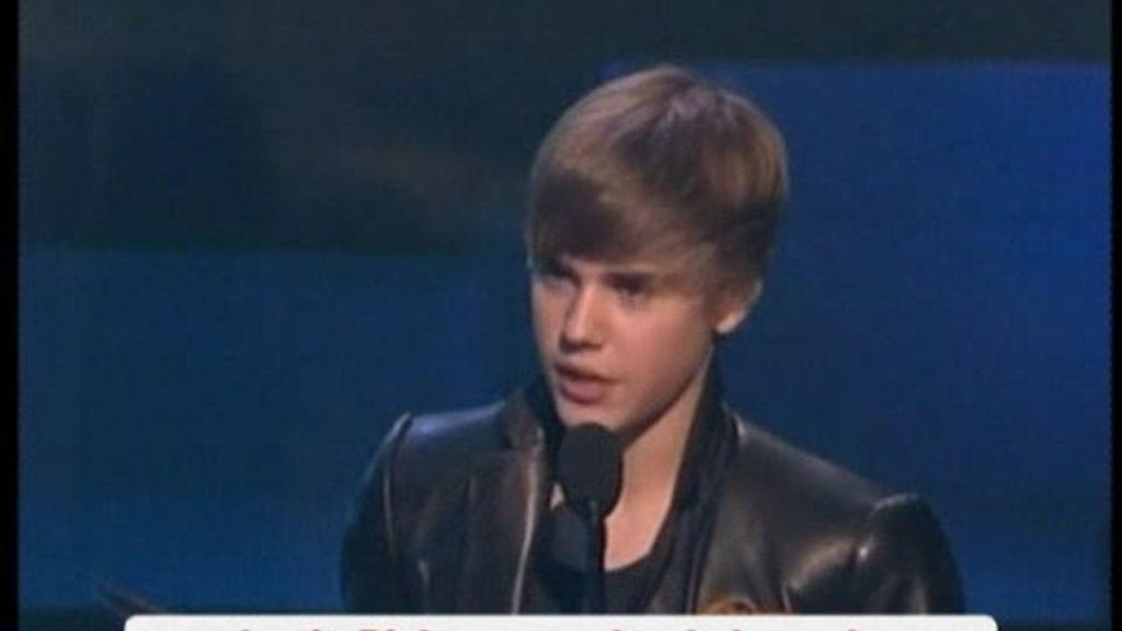 Justin Bieber triunfador en los American Music Awards