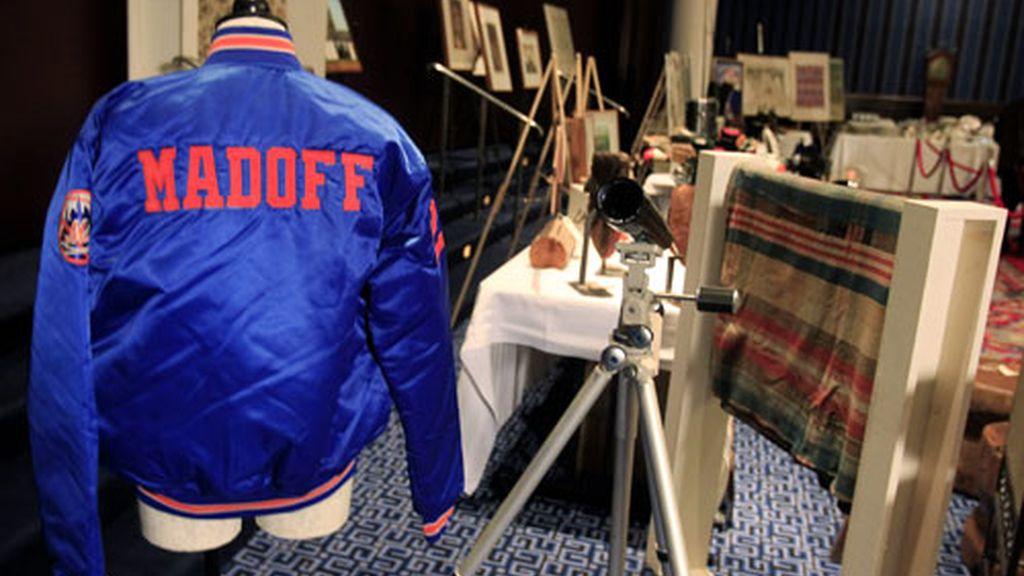 Los objetos subastados de Madoff