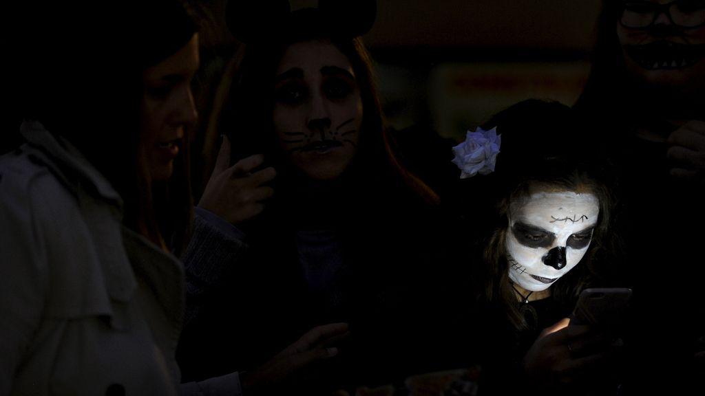 Celebración de la noche de los muertos