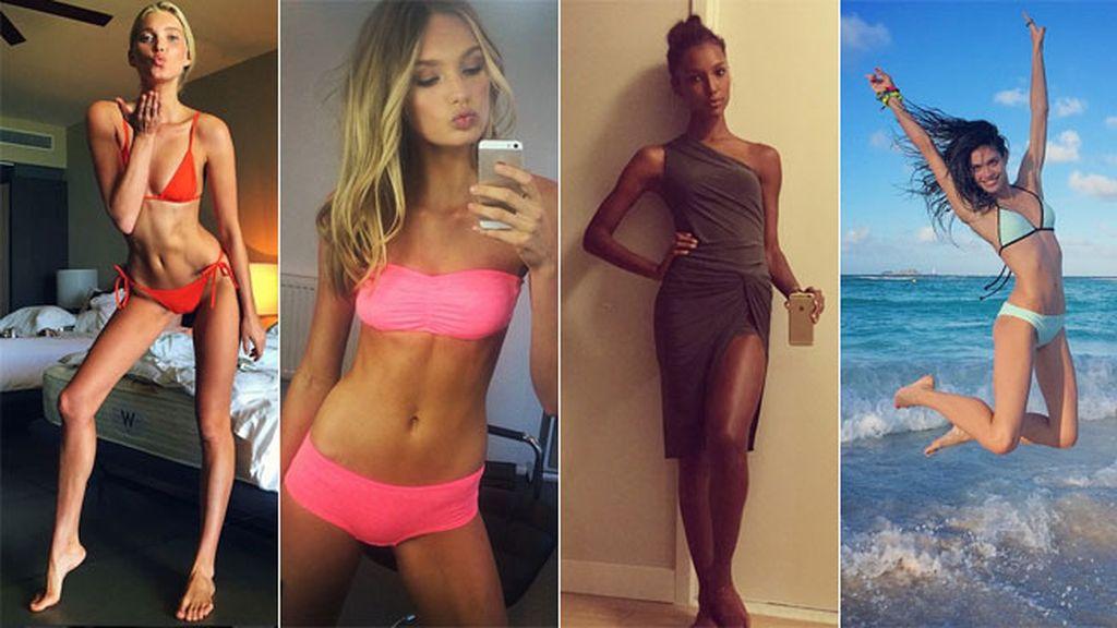 Algunas eran ya imagen de Pink, la sección juvenil de Victoria's Secret