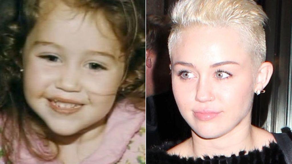 Look distinto pero mirada similar a la que tenía de niña