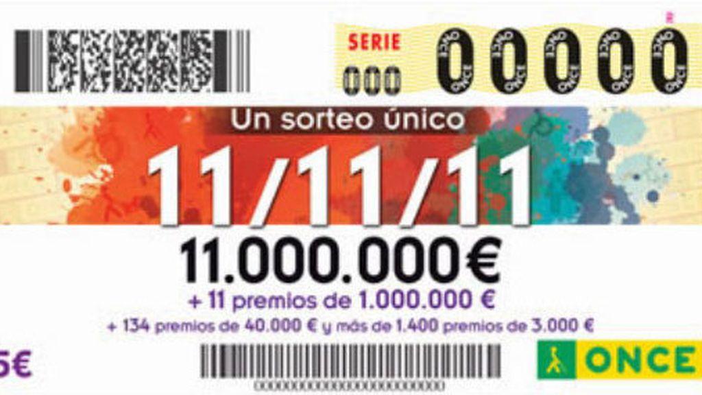 Los once millones del sorteo extraordinario del 11/11 de la ONCE recaen en Córdoba