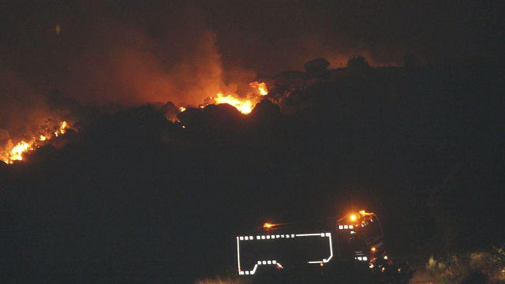Incendio en Puerto Seguro, Salamanca