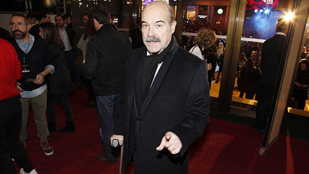 El presidente de la Academia de Cine, Antonio Resines
