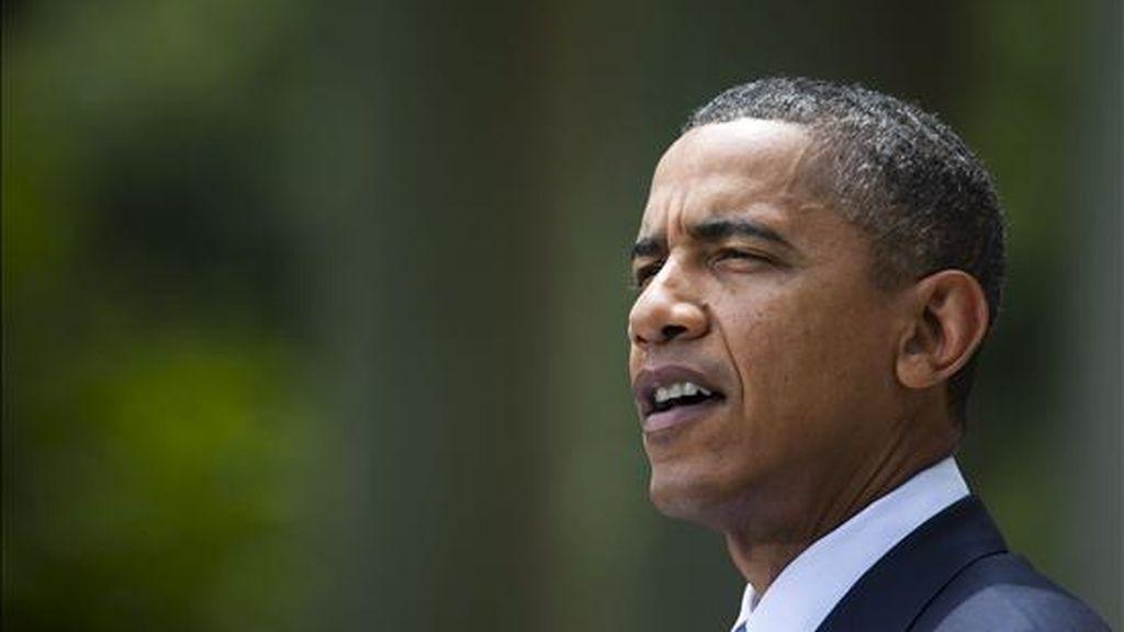 """El presidente de EE.UU., Barack Obama, se declaró """"preocupado"""" por la filtración de cerca de 91.000 documentos secretos sobre la guerra de Afganistán a la página de internet Wikileaks. EFE"""