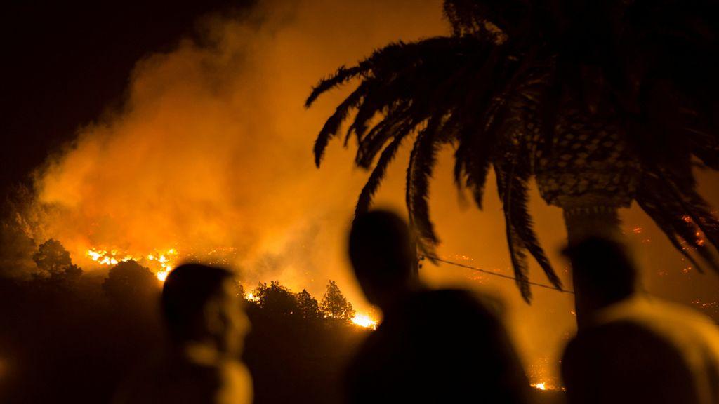 El incendio de La Palma empeora