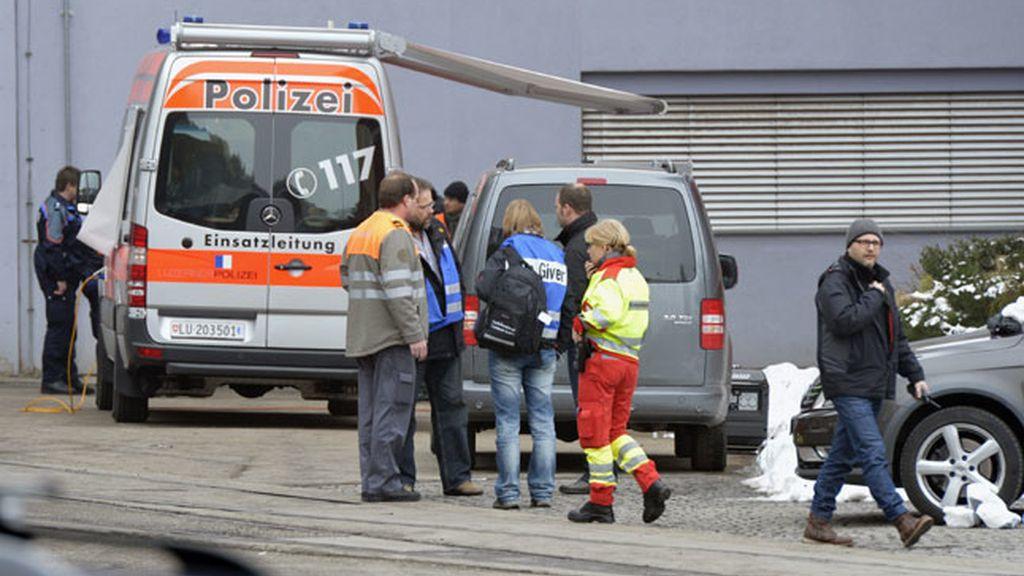 Tres muertos en un tiroteo en una fábrica en Suiza