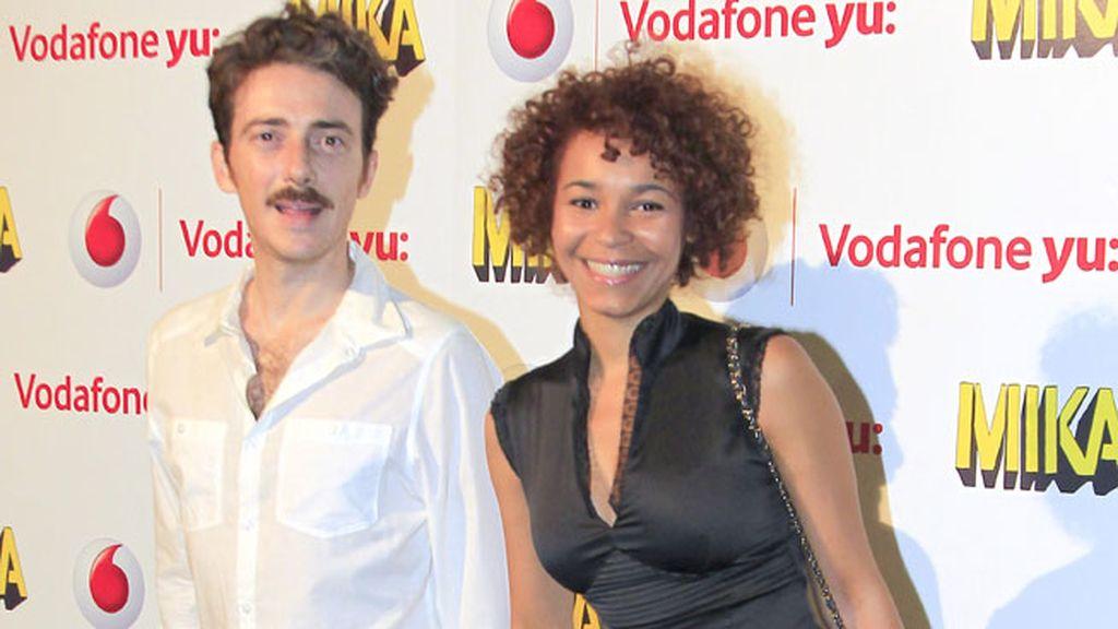 Los actores Victor Clavijo y Montse Pla acudieron juntos