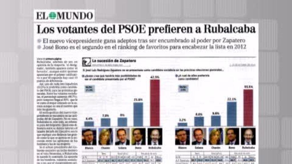 Rubalcaba, el sucesor