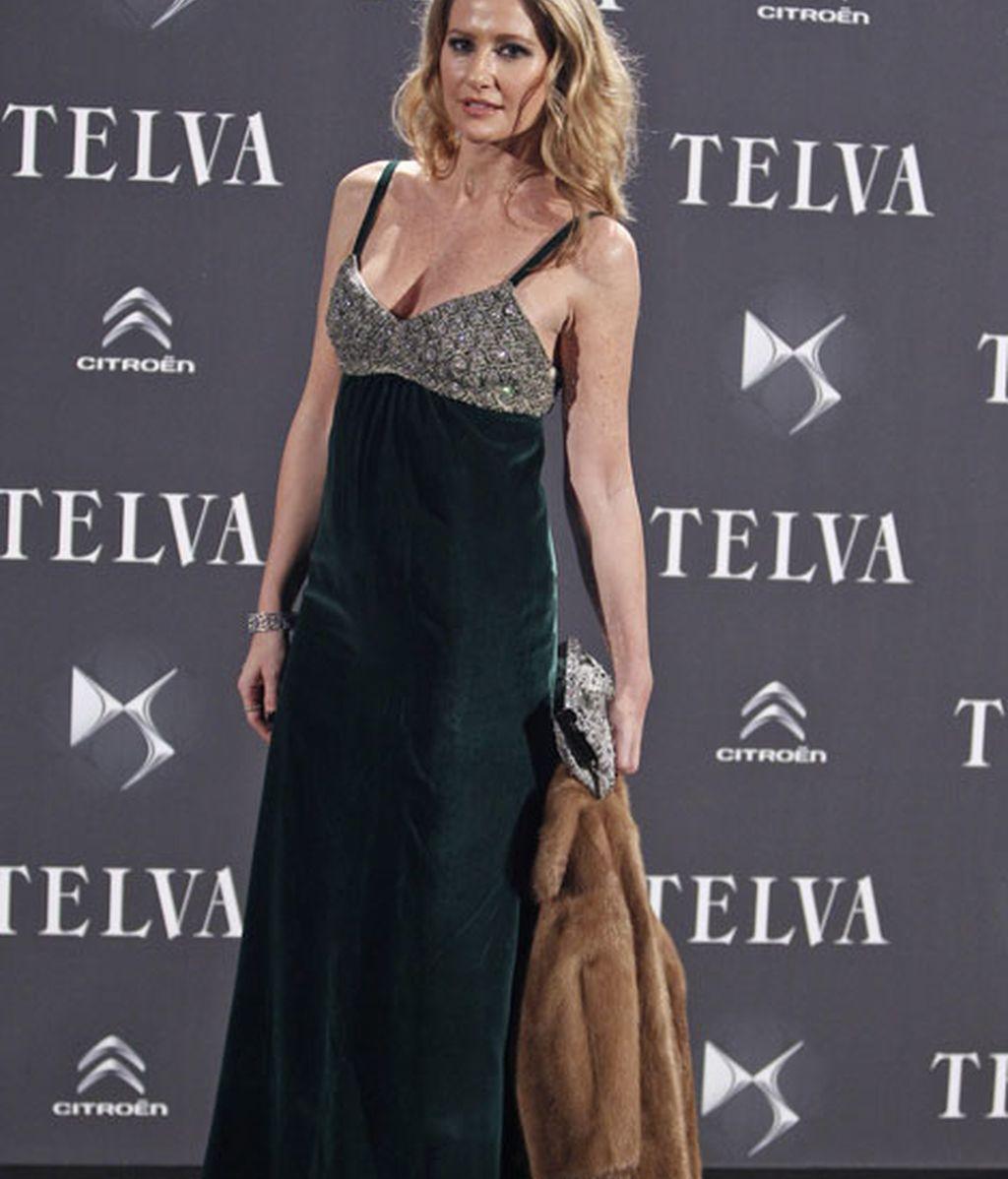 Fiona Ferrer destacó con un vestido de pedrería