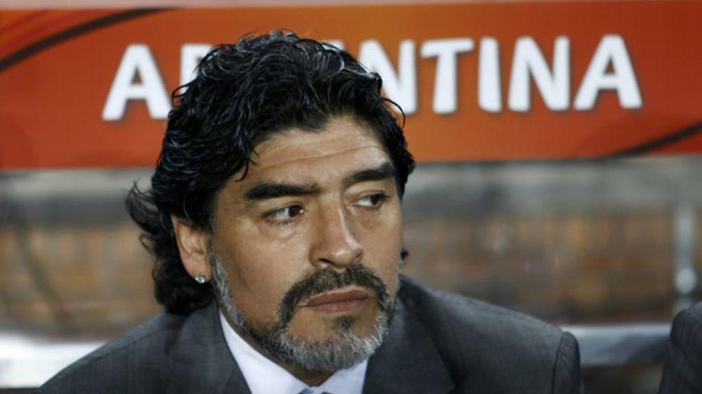Maradona habla de 'La Roja'