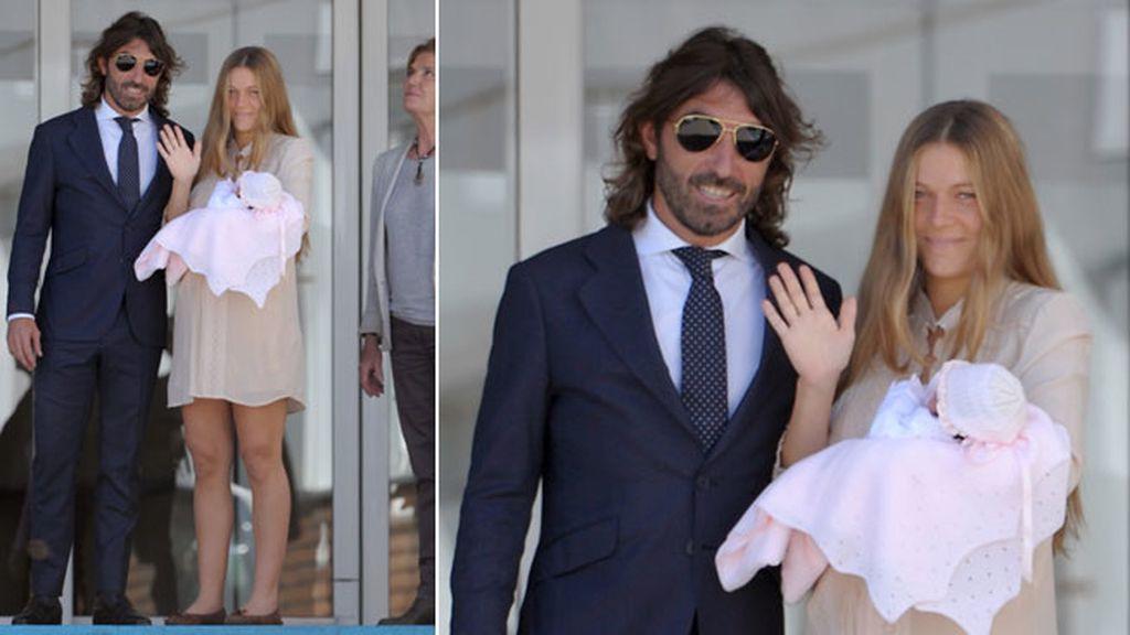 La primera hija de la pareja nació el 25 de abril en Madrid