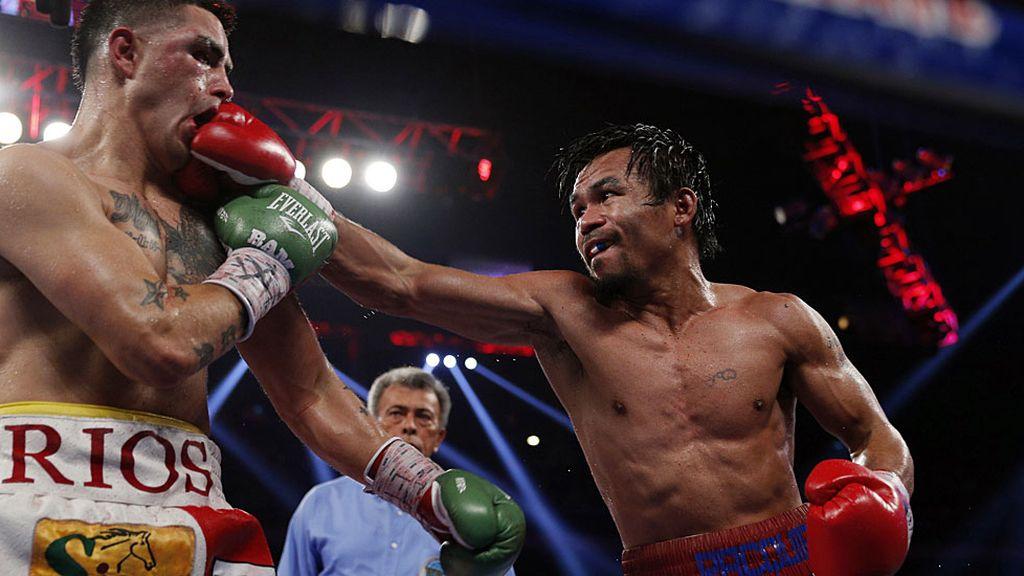 Manny acalló los rumores de retirada regresando para ganar a Brandon Ríos