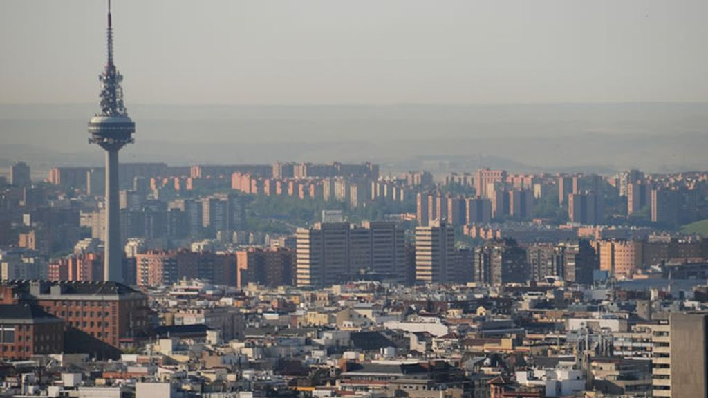 Edurne nos muestra el skyline de Madrid
