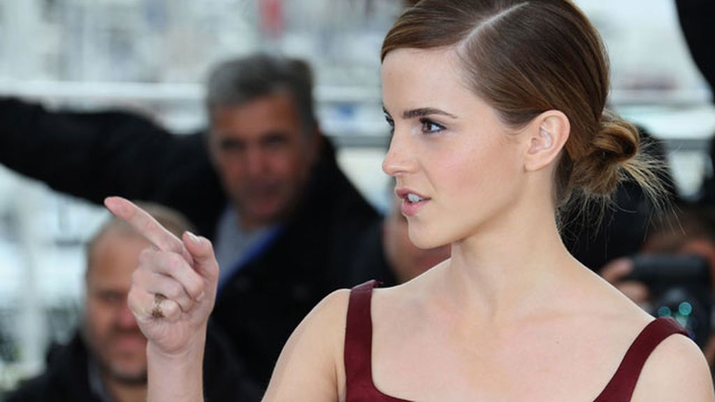 Emma Watson, presenta en Cannes a su Nikki, un personaje que odia