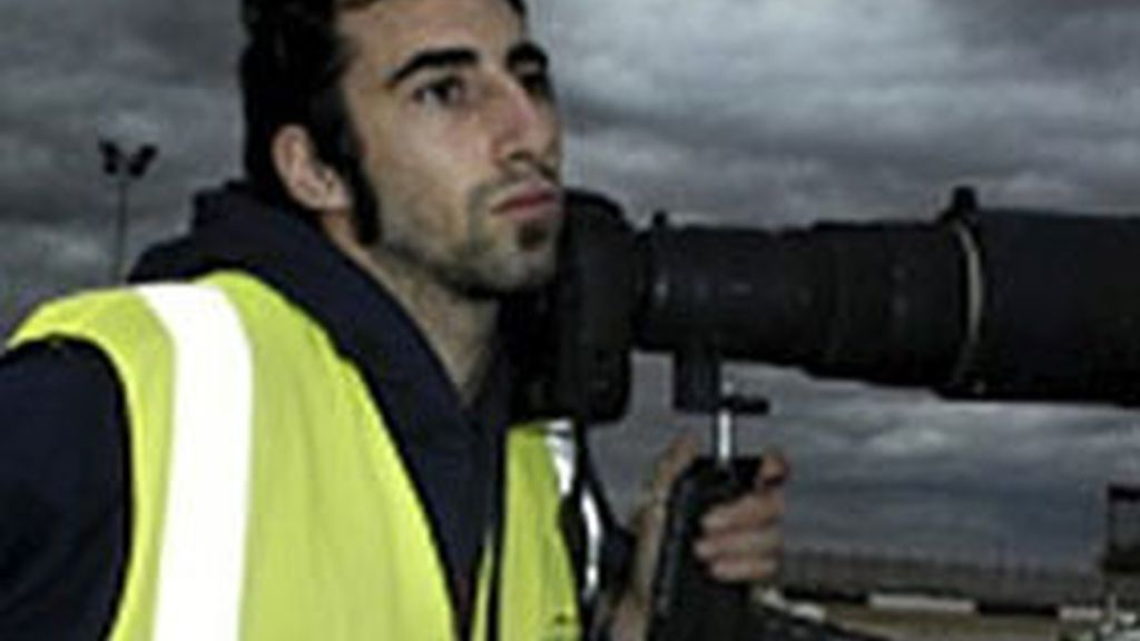 El fotógrafo español Manuel Bravo