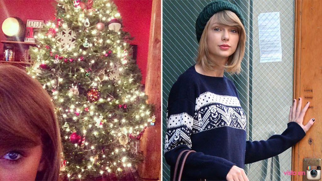 Taylor Swift se ha hecho un 'treefie' presumiendo de árbol