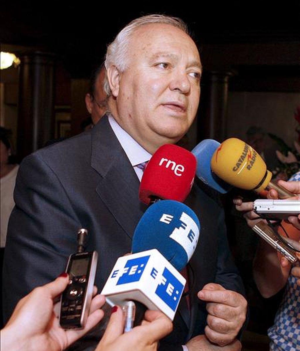 El ministro español de Asuntos Exteriores, Miguel Angel Moratinos. EFE/Archivo