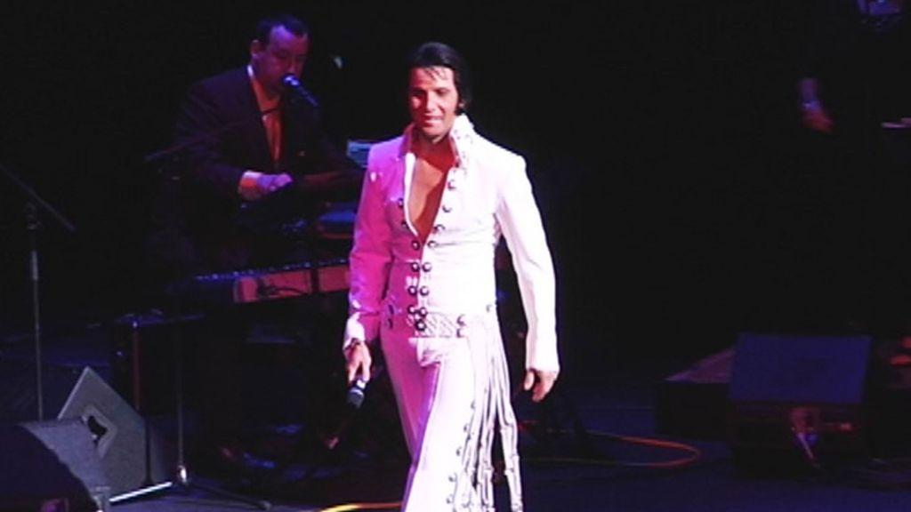Imitador de Elvis