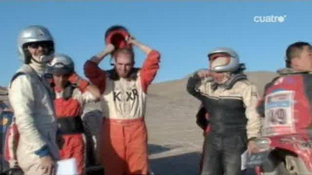Jesús Calleja se pierde en el desierto después de estar más de 48 horas sin dormir en el Dakar 2011
