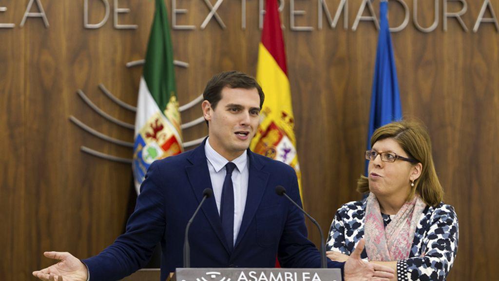 Albert Rivera visita Extremadura