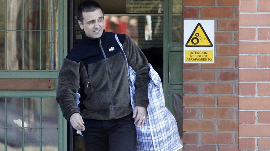 El etarra Kepa Solano abandona la prisión de Bonxe (Lugo)