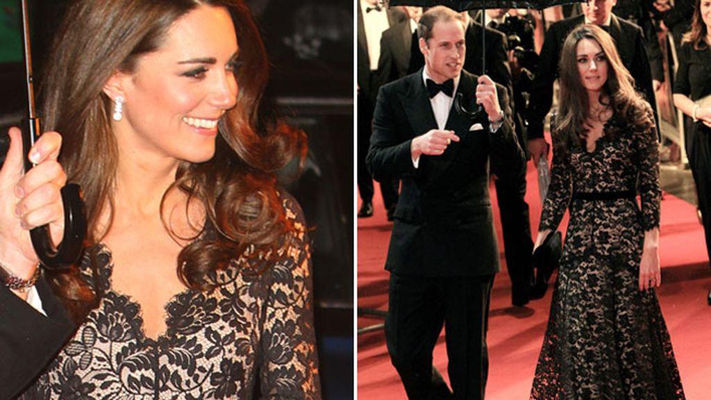 Kate Middleton en la presentación de la película 'War Horse' en Londres