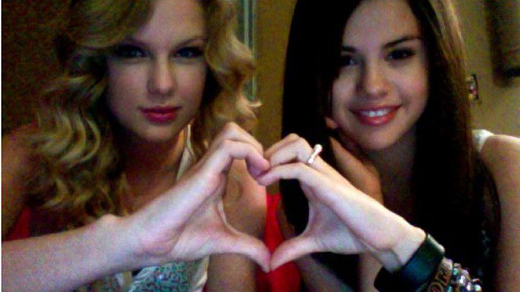 Taylor Swift en el Twitter de Selena Gomez