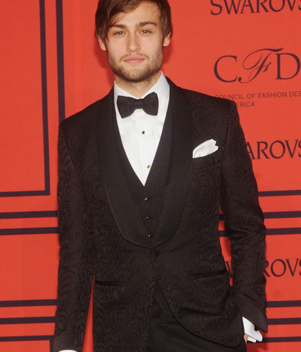 El actor Douglas Booth