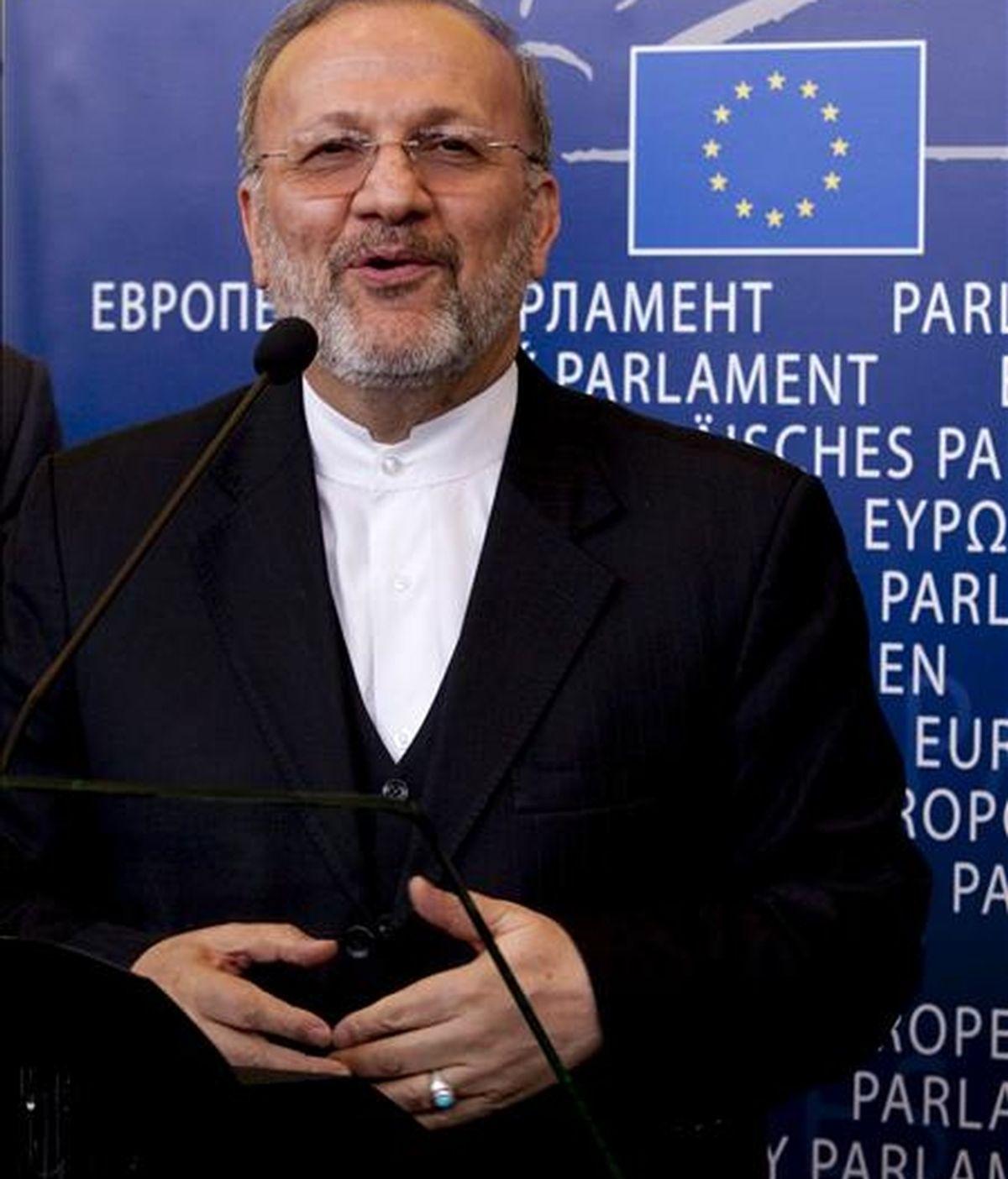 El ministro iraní de Exteriores, Manouchehr Mottaki. EFE/Archivo