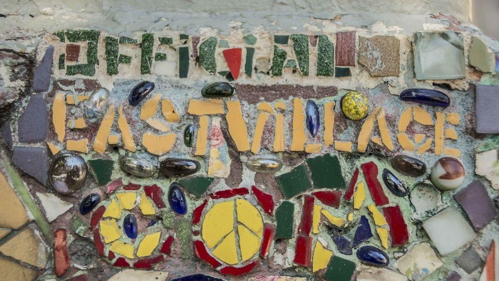 El hombre mosaico del East Village
