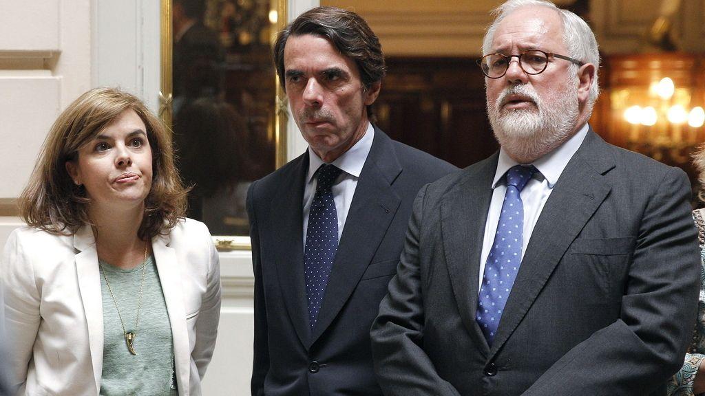 Sáenz de Santamaría, Aznar y Cañete