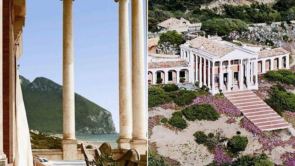 Villa Volpi, un palacio neoclasico en Sabaudia (Italia)