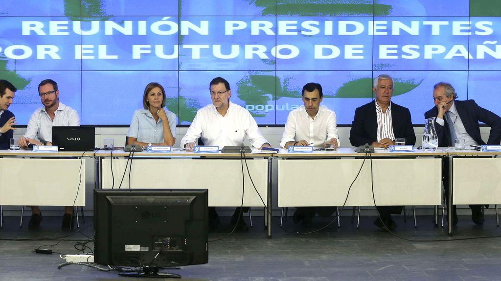 Rajoy reúne a sus presidente provinciales