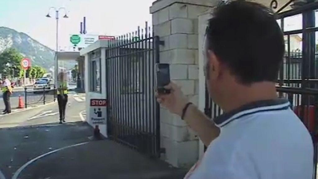 Un sindicato policial de Cádiz decide grabar a las autoridades gibraltareñas