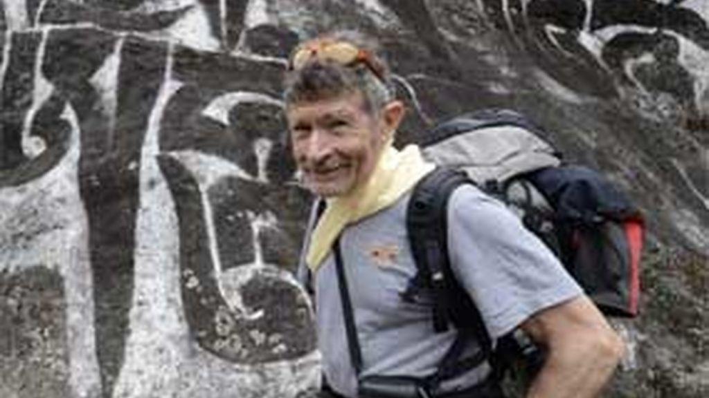 El gran alpinista Carlos Soria
