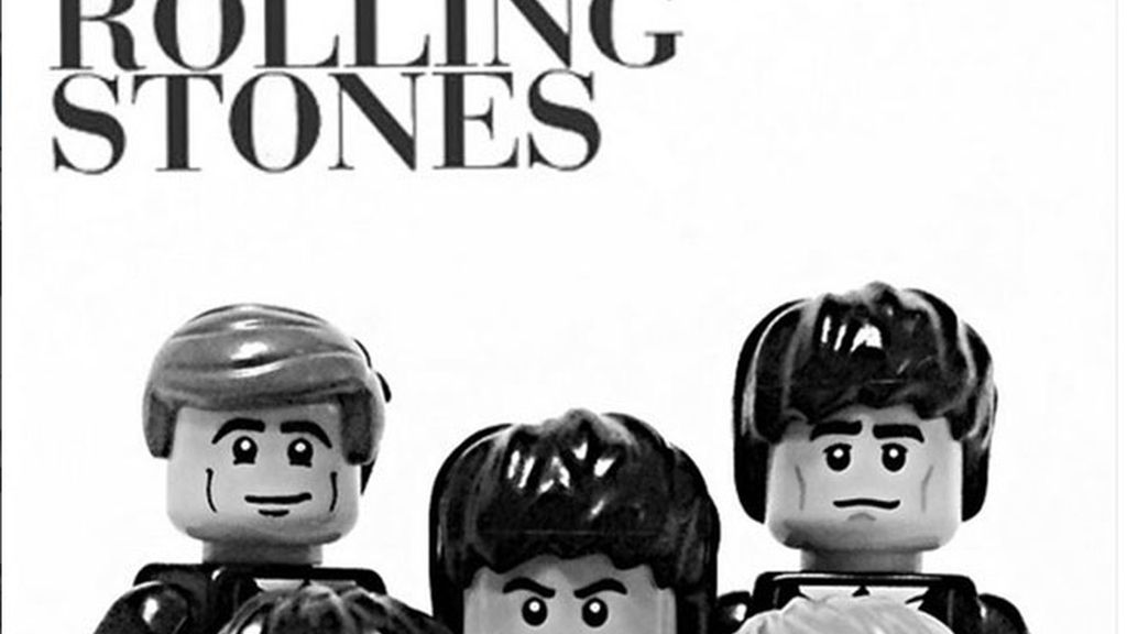 Lego rolling stones