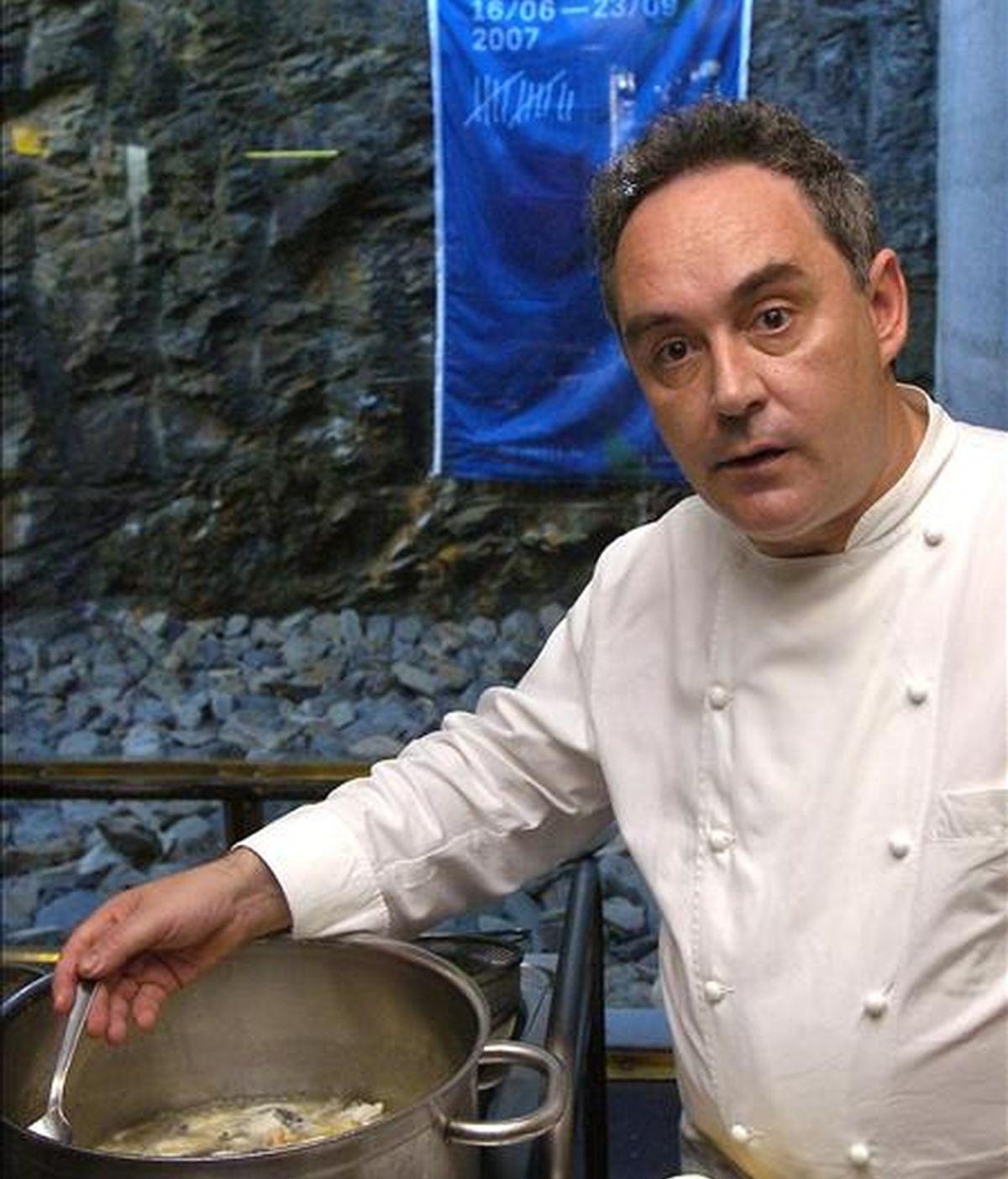 El cocinero catalán Ferrán Adrià. EFE/Archivo