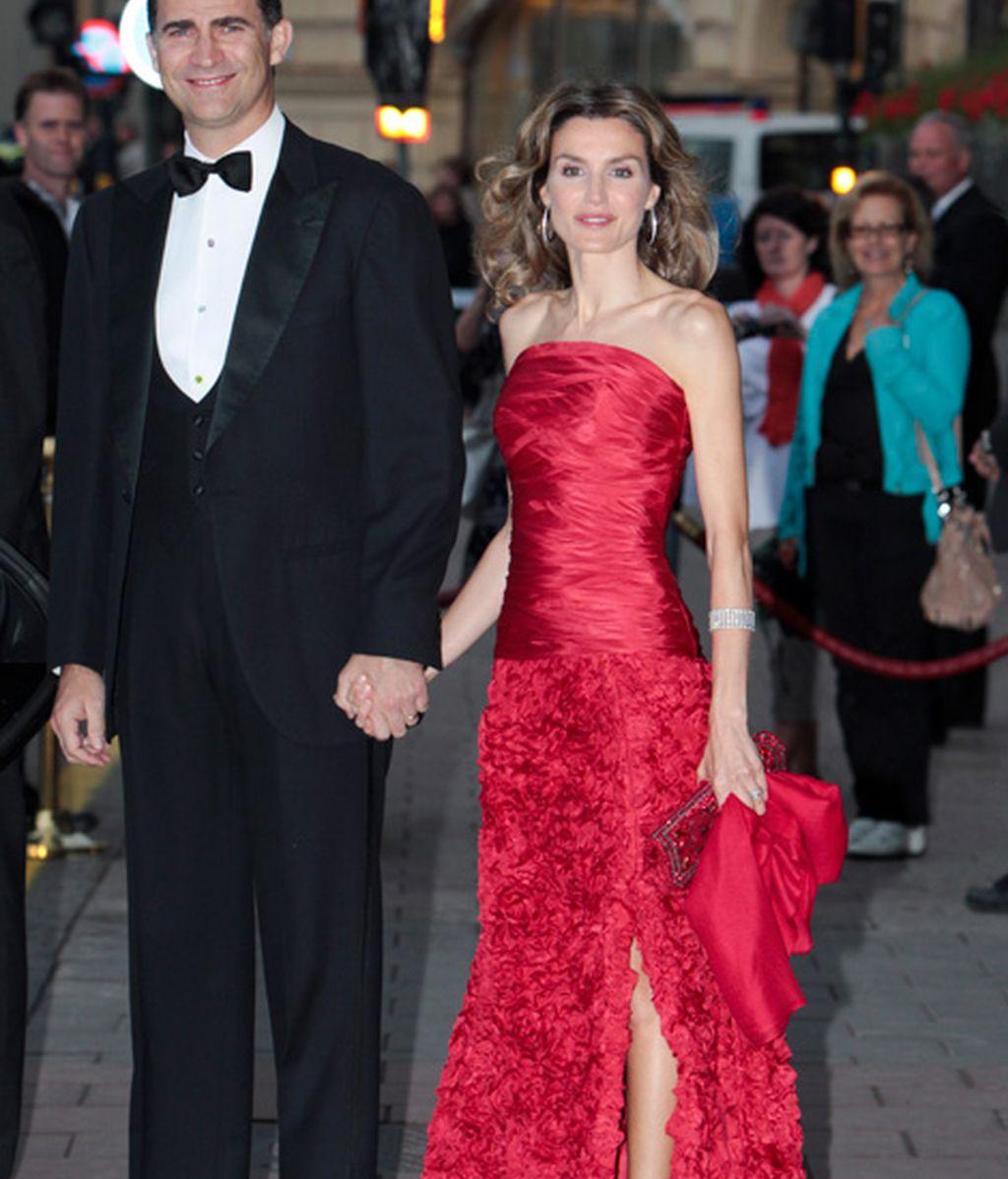 Cena de gala previa a la boda de Victoria de Suecia y Daniel Westling (junio de 2010)