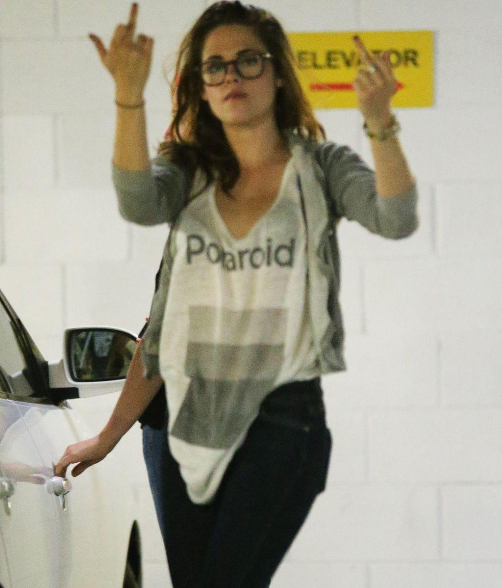 Kristen Stewart, muy enfadada tras su ruptura con Robert Pattinson