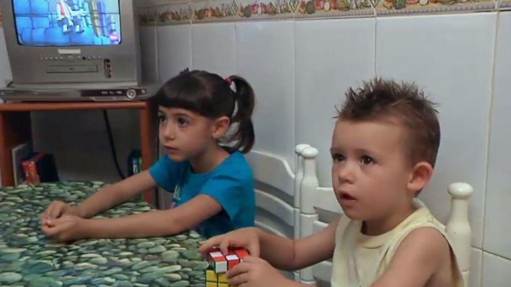 Alba y Rubén, ¡qué carácter!