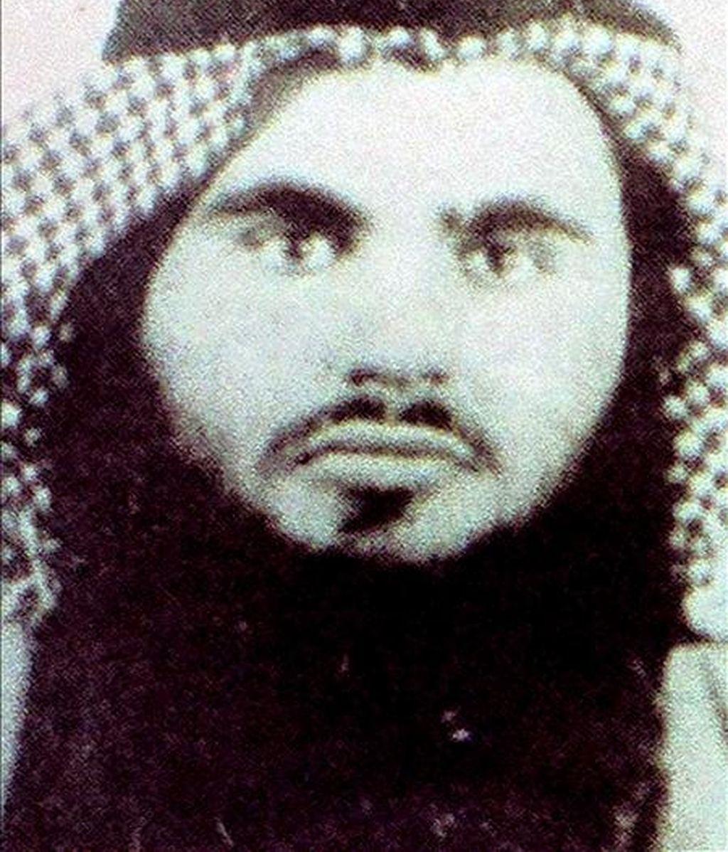 Fotografía de archivo sin fechar facilitada por las autoridades jordanas el 21 de junio de 2008 que muestra a Omar abu Omar, también conocido como Abu Qatada, un clérgio musulmán radical. EFE/Archivo