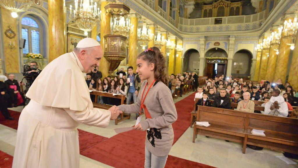el Papa en Turquia