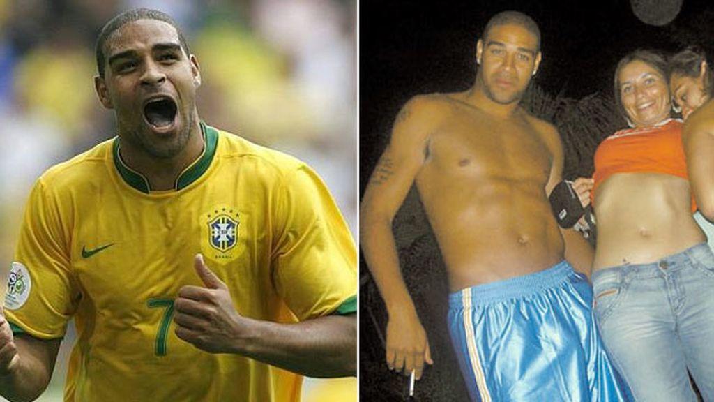 Adriano, de estrella de Brasil a cerrar las discotecas