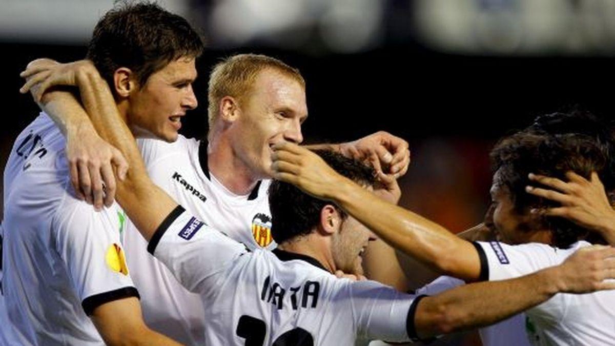 El Valencia colidera el grupo B con el Lille francés. FOTO: EFE.